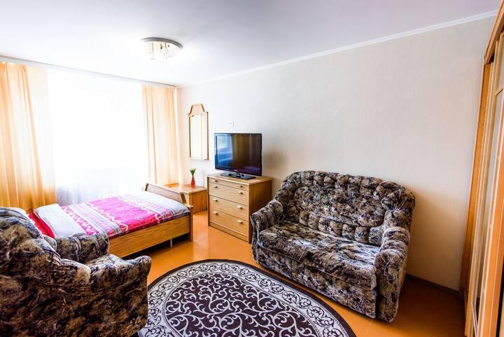 Комфортная квартира на Козлова 13, центр города