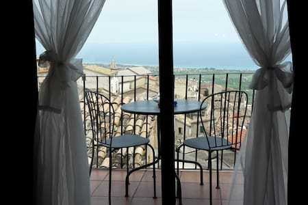 Origano, Triple Room with Sea View - Santa Caterina Dello Ionio - Wohnung