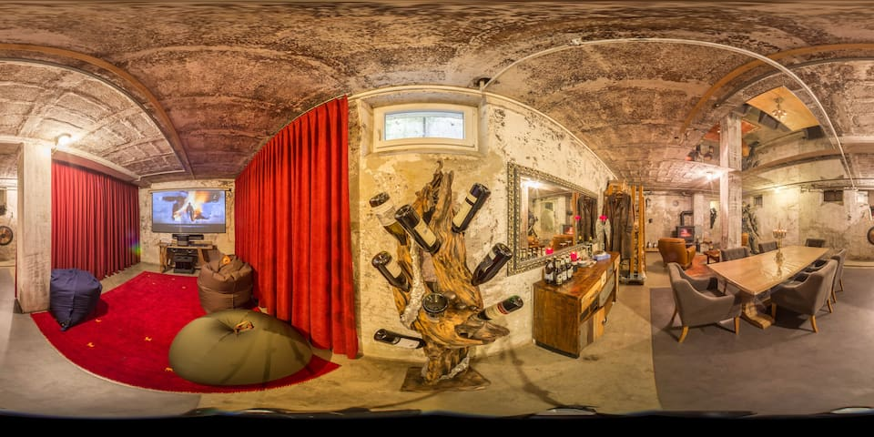 The bunker- it is one of a kind!
