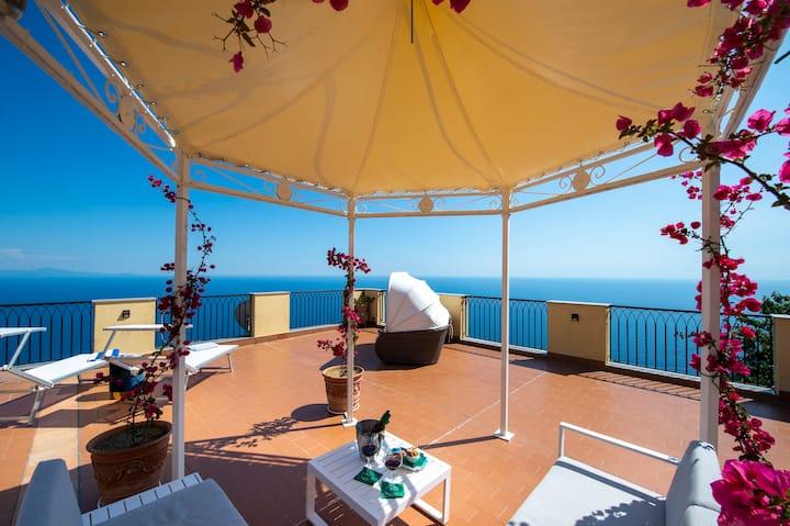 Luxury Villa Il Mignale  Amalfi Coast