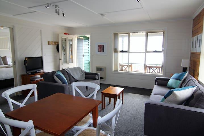 Bright open plan living area