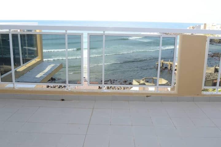 Appartement face à l'océan