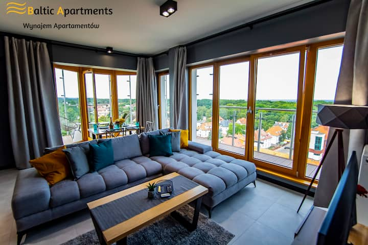 Baltic-Apartmetns - Platan Tower Sea View 96