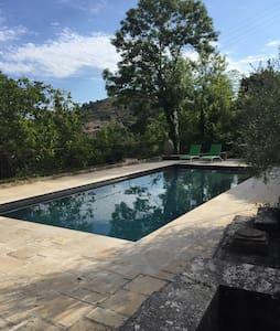 Maison dans pinède avec piscine - Riez
