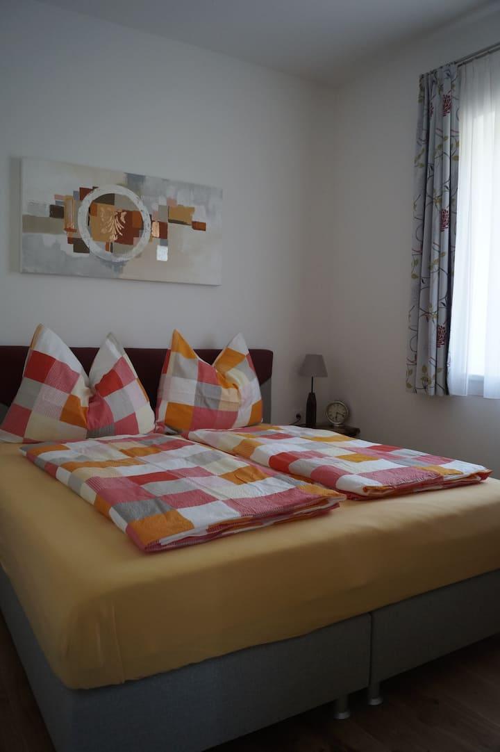 Apartment mit Blick auf Wiesen bei Salzburg