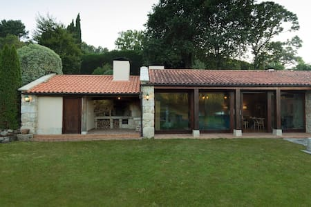 Exclusiva Villa Rural Rías Baixas. 5 hab y piscina - As Barreiras - Vila