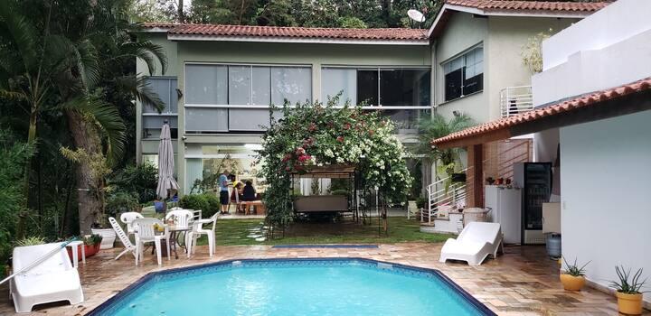 Serra da Cantareira Aconchego p home office/lazer