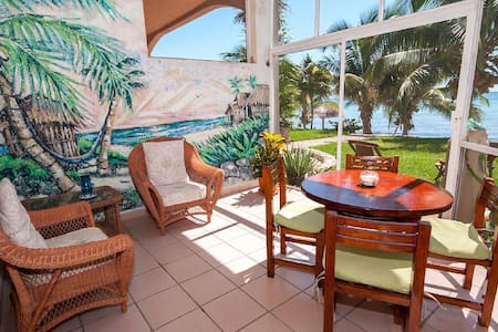 Beachfront 2 BR with Mexican Charm