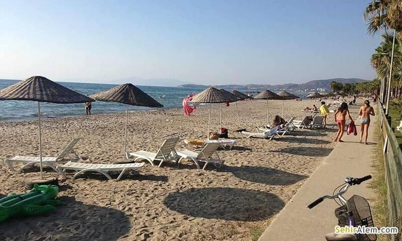 Kuşadası Longbeachde Denize/Plaja Sıfır Lux Eşyalı