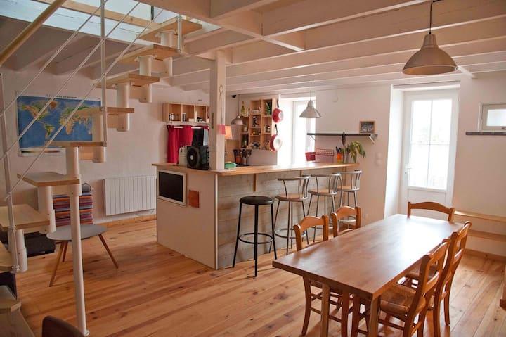 Maison familiale de vacances, presqu'île d'Arvert