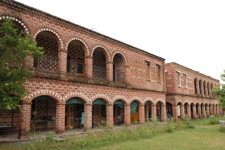 Guest Room at Rajmandir Palace, Maksudpur Garh