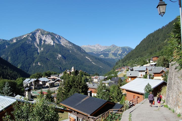 4-6 pers. holiday appartment near center of Champagny