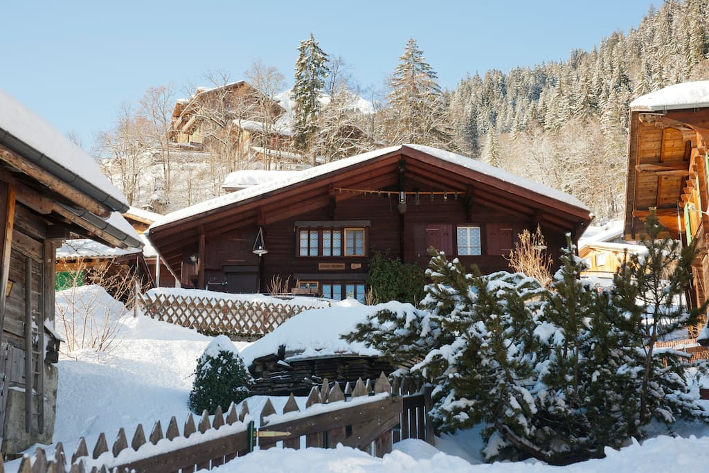 Chalet Daheim the winter view