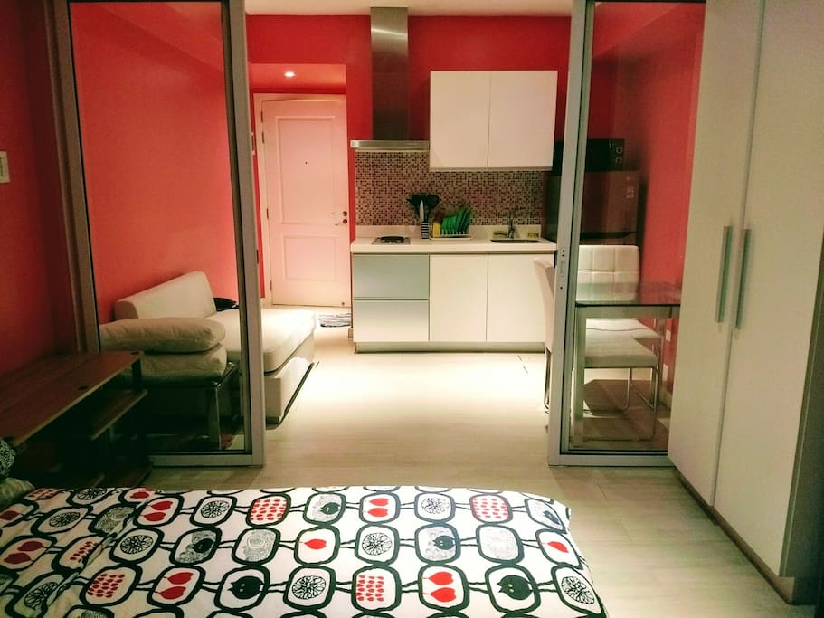 this 27sqm one bedroom unit is good for couple
