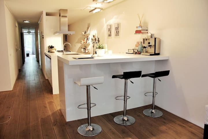 Modern and luxurious apartment in center Amsterdam - 阿姆斯特丹 - 公寓