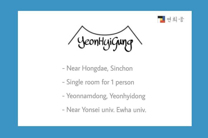 (Near Hongdae, Sinchon) Yeonhui house_0404