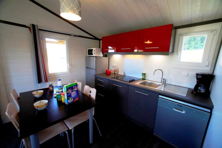 Chalet Eco-responsable 4 pers  proche Cahors
