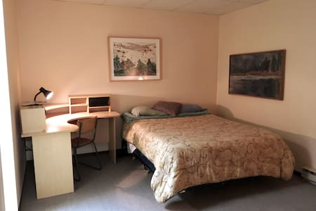 The Nest -  Room 1 w/Ensuite, Queen bed + Futon