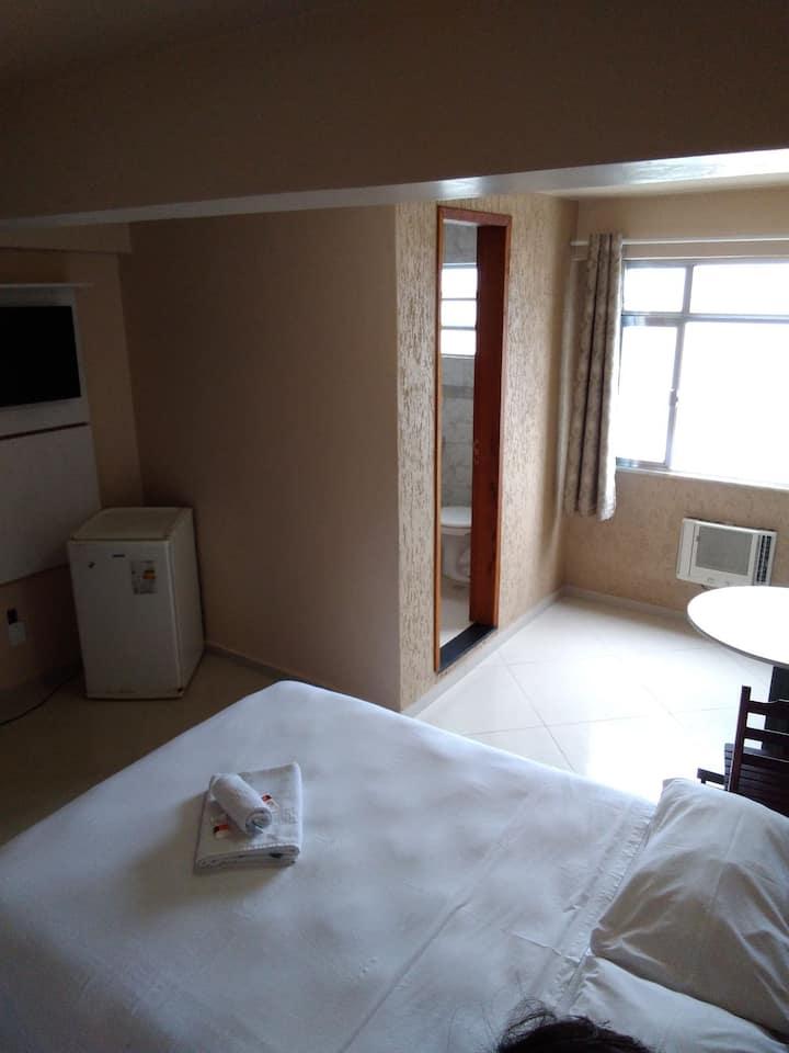 quartos com vista para lagoa