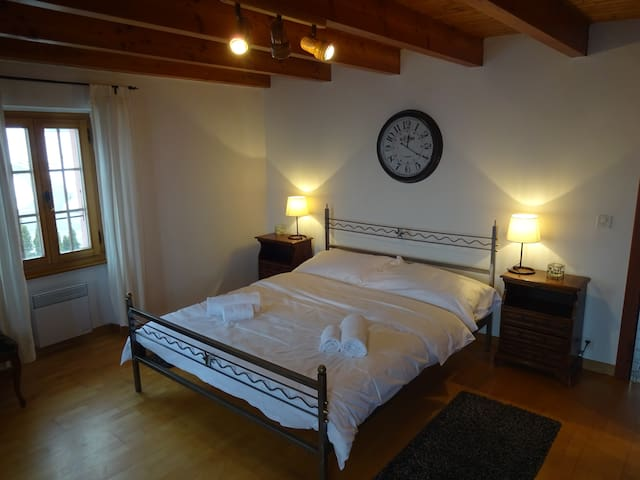 Double room with balcony + view - Nendaz