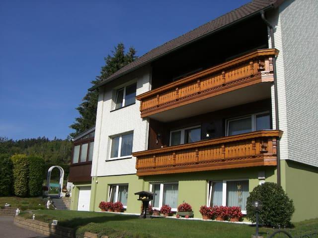 90 m² große Ferienwohnung Bettina im Südharz, Bad Sachsa