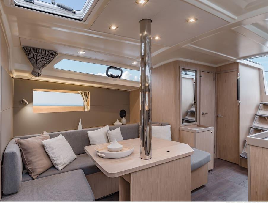 Inside Premium Yacht