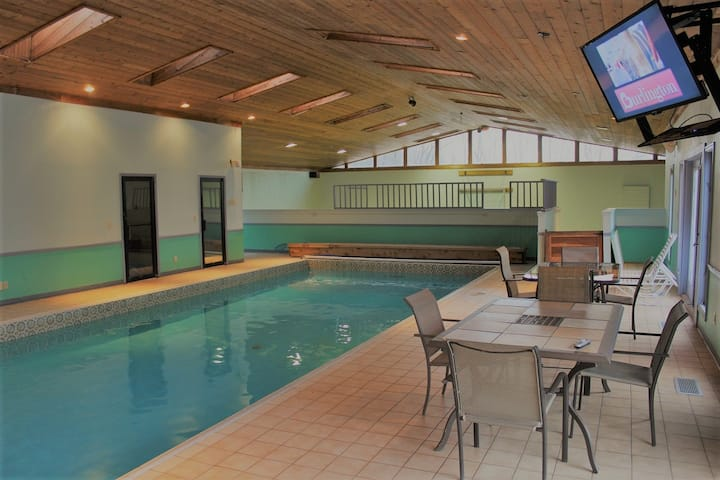 Wiseman House with Indoor-Outdoor Pool