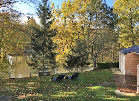 La Maison du Lac 1  Normandy : view confort design