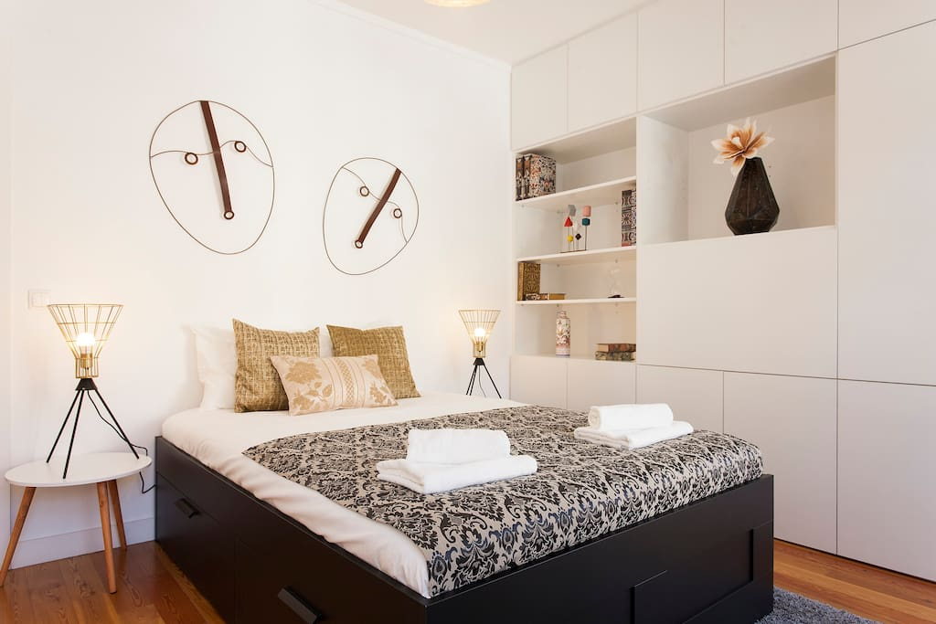 First bedroom - With spacious double bed