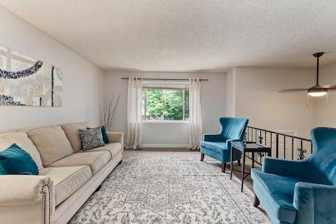West Boise Suite with Backyard Paradise