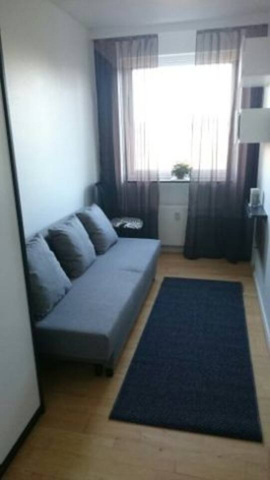 Fully furnished room close to center and campuses