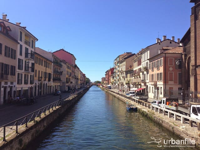 Cool place in the heart of Navigli