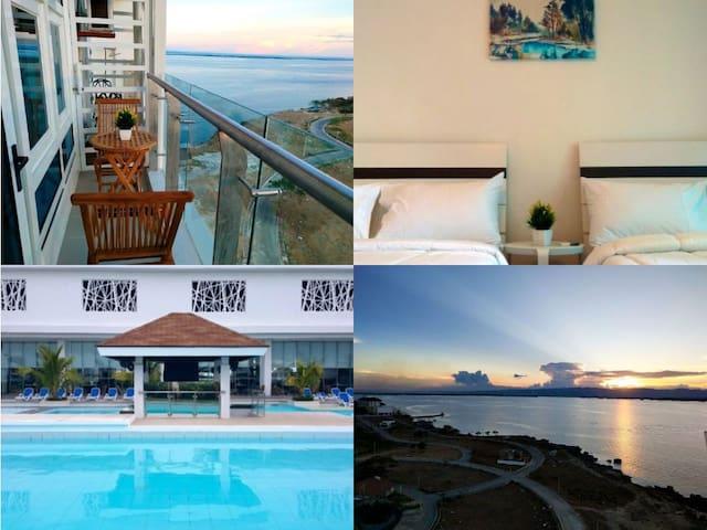 Relaxing Stay w/Sea View at Arterra (WiFi Netflix)