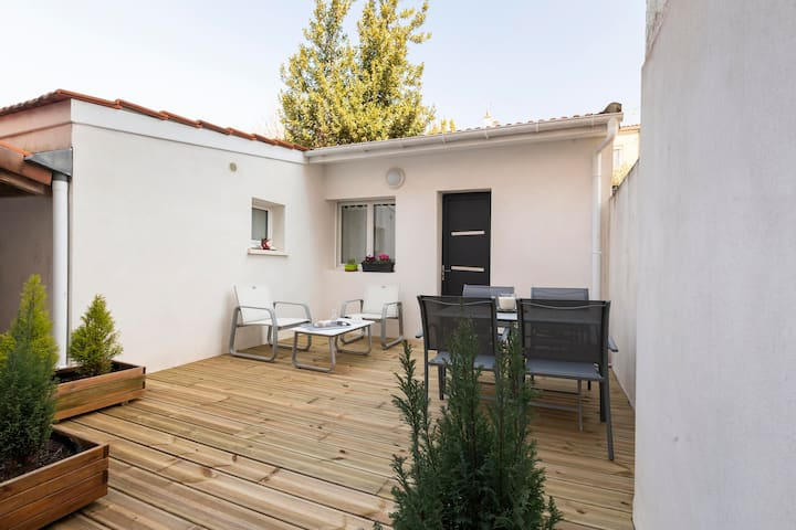 Le Naïa - Studio cosy avec terrasse plein Sud