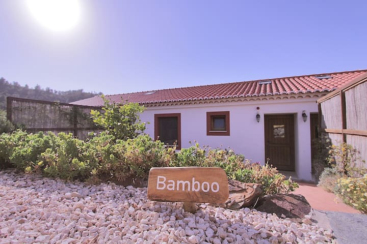 The Bamboo House close to the beach