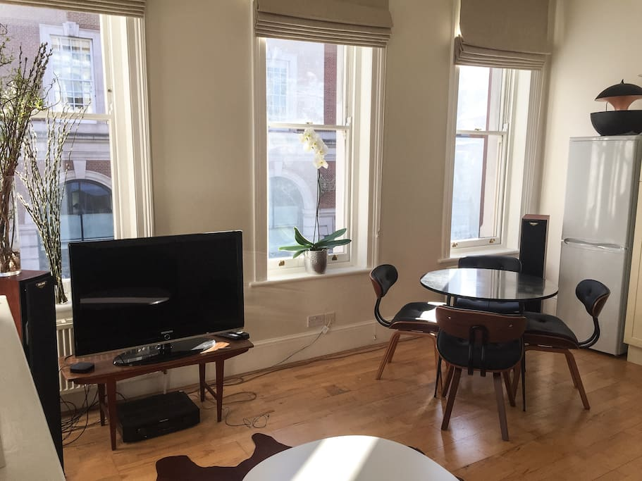 Bright 1 Bedroom Flat Central London Apartments For Rent