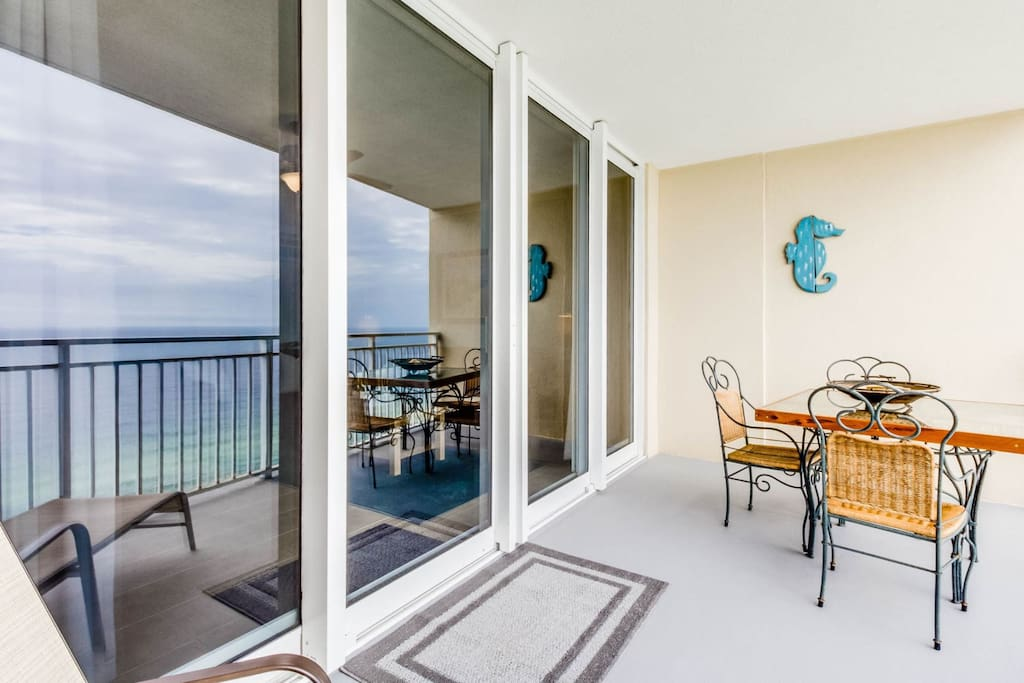 Private Balcony Located Off Living Area