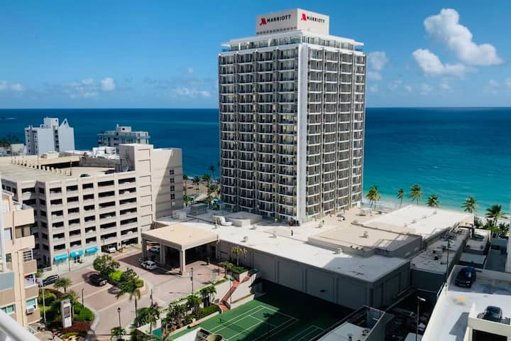 Great Ocean View (King Bed/WIFI/ Parking) Condado
