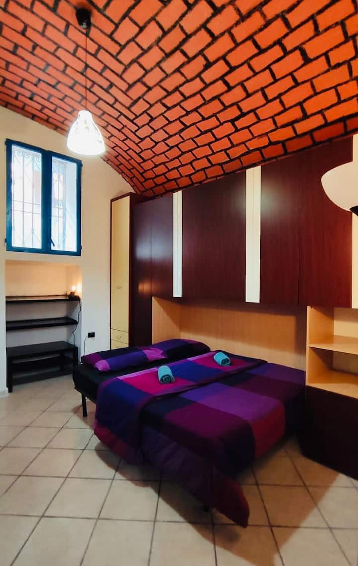 Cozy apt 2 bedrooms in the pedestrian area Pigneto