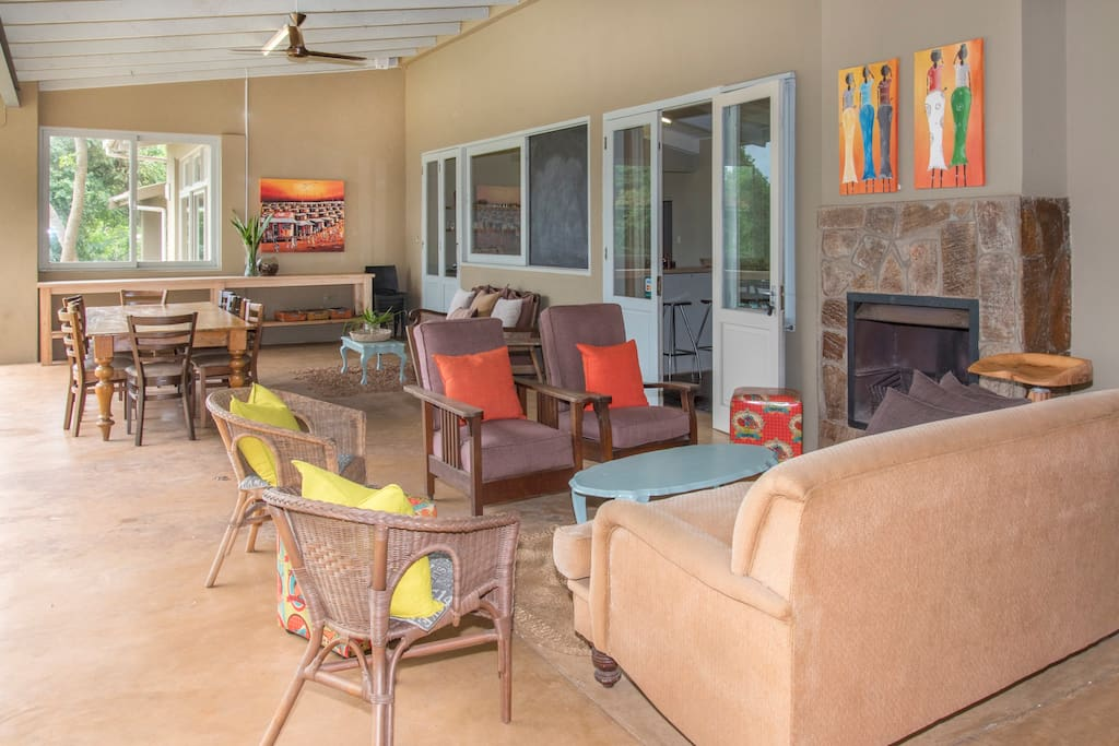 Our patio - perfect for outdoor entertaining.