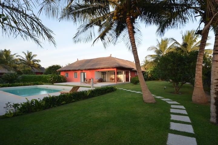 Casamance, Magnifique Villa 5* avec Piscine