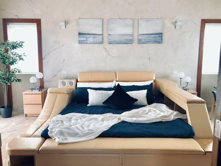 Smart house modern style Ocean village
