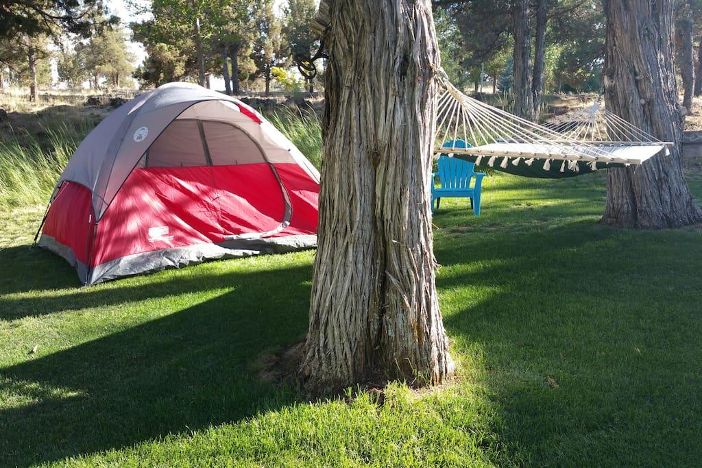Zelt Oregon 5 : Sweet slumber camp breakfast zelte zur miete in