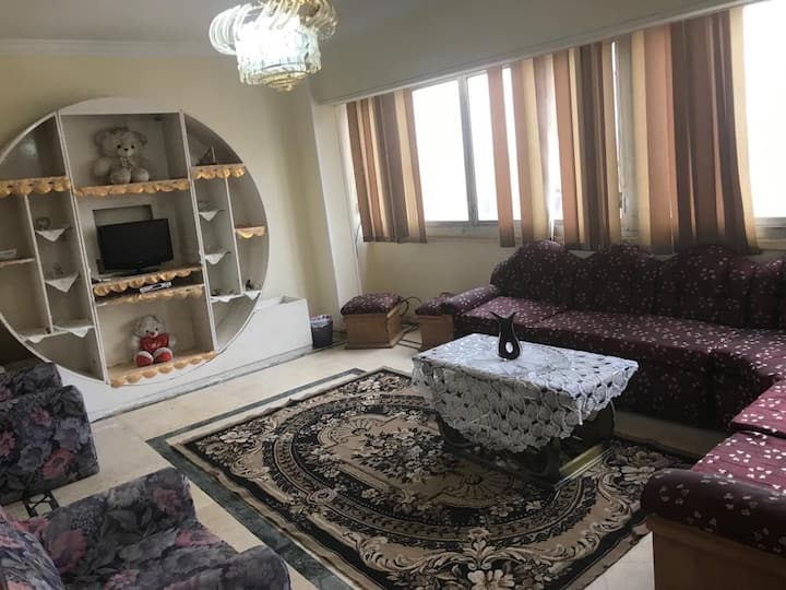 Best location apartment in Nasr city.