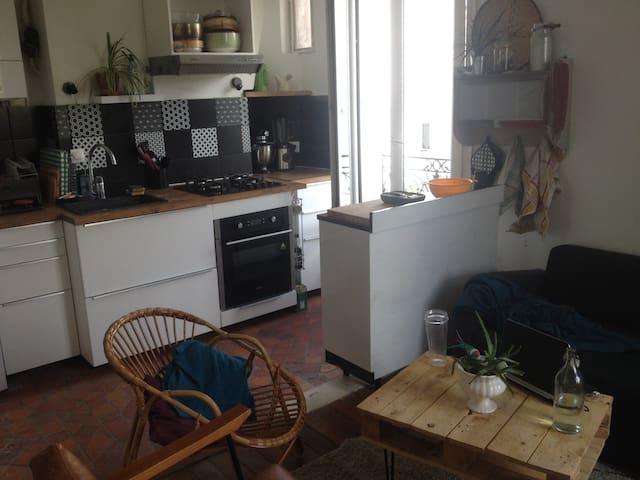 Appartement cosy proche de Paris La Villette