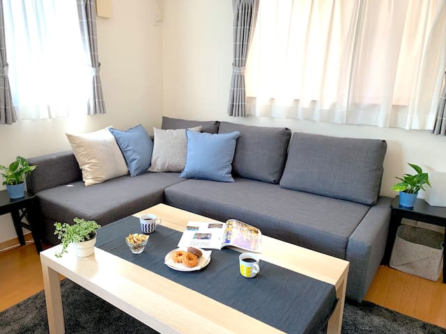 New Open! Entire 3BR Home-Close to USJ/Namba/Umeda