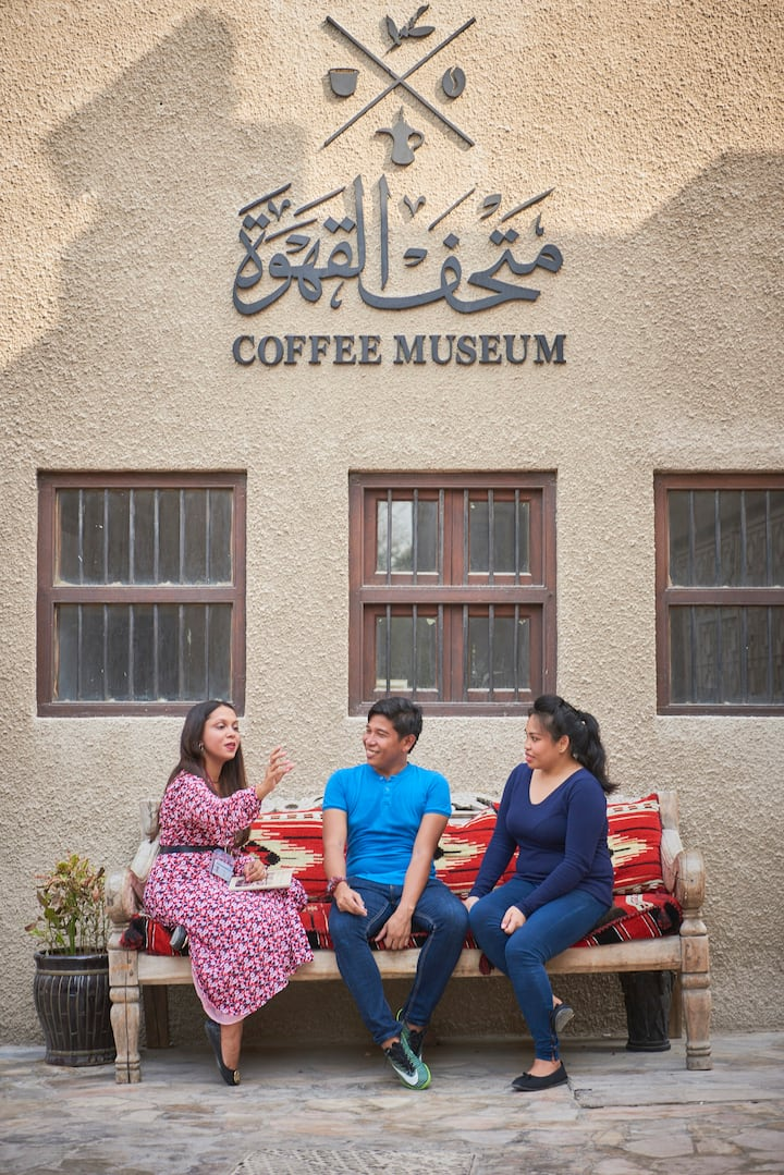 Coffee Drinking Tradition in Al Fahidi