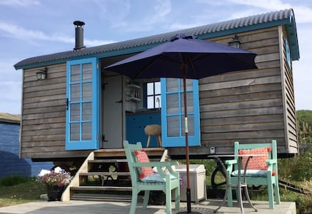 The Seaside Shepherd's Hut