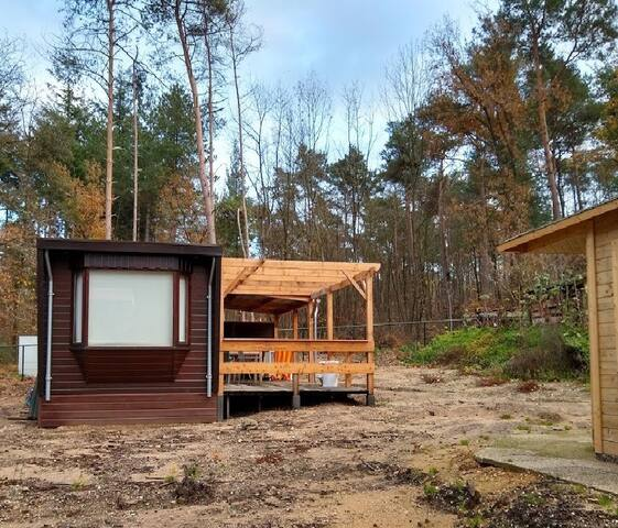 """Holliday home in the forest 15"""" from city Nijmegen"""