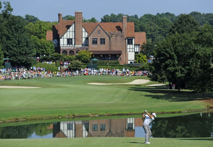 East Lake Golf Club is within walking distance (under 1/2 mile).